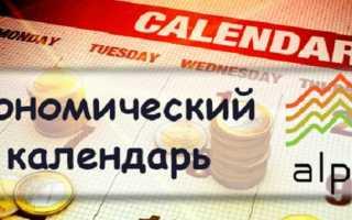 Экономический календарь cобытий форекса Альпари